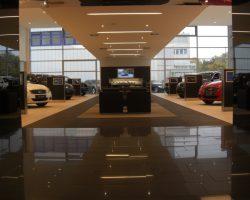Unsere Fliesen in Autohäusern von Toyota