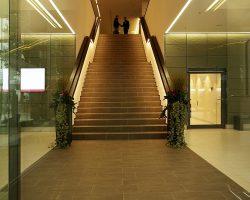 Treppe / Foyer im Hyperion-Hotel Hamburg